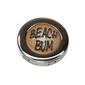 Beach Bum Surf and Sand Foldable Purse Handbag Hook Hanger Holder