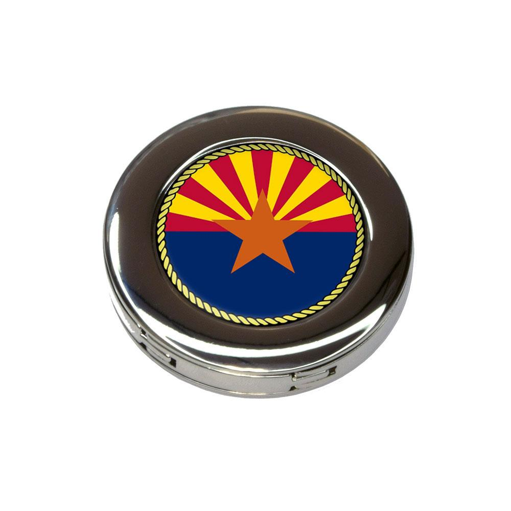 Arizona State Flag Foldable Retractable Purse Bag Handbag Hook Hanger Holder