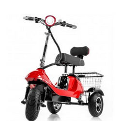 EWheels (EW-19) 3 Wheel Mobility Scooter, Sporty & High Speed Capacity