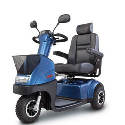 EV-Rider (Afiscooter C3) 3 Wheel Mobility Scooter, Advanced Full Suspension System & Excellent Maneuverability
