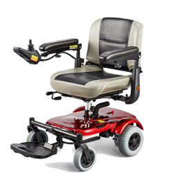 Merits (P321 EASY-GO) Electric Wheelchair, Excellent Maneuverability & Compact Size