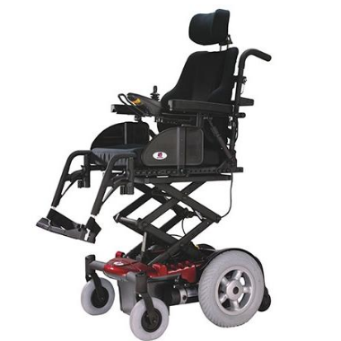 Vision P13 Power Wheelchair with Seat Elevator on