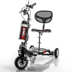 EWheels (EW-07) 3 Wheel Mobility Scooter, Foldable & Travel-Friendly