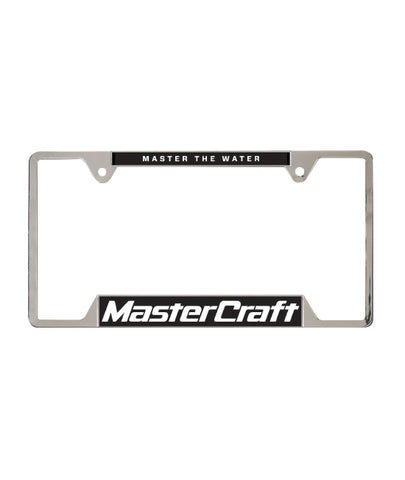 MasterCraft Classic Logo Aluminum License Plate Cover