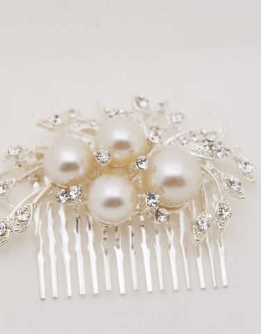 wedding hair comb - JOLEE