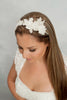 hand beaded  rhinestone headpiece and sash HPB170691 Clarice