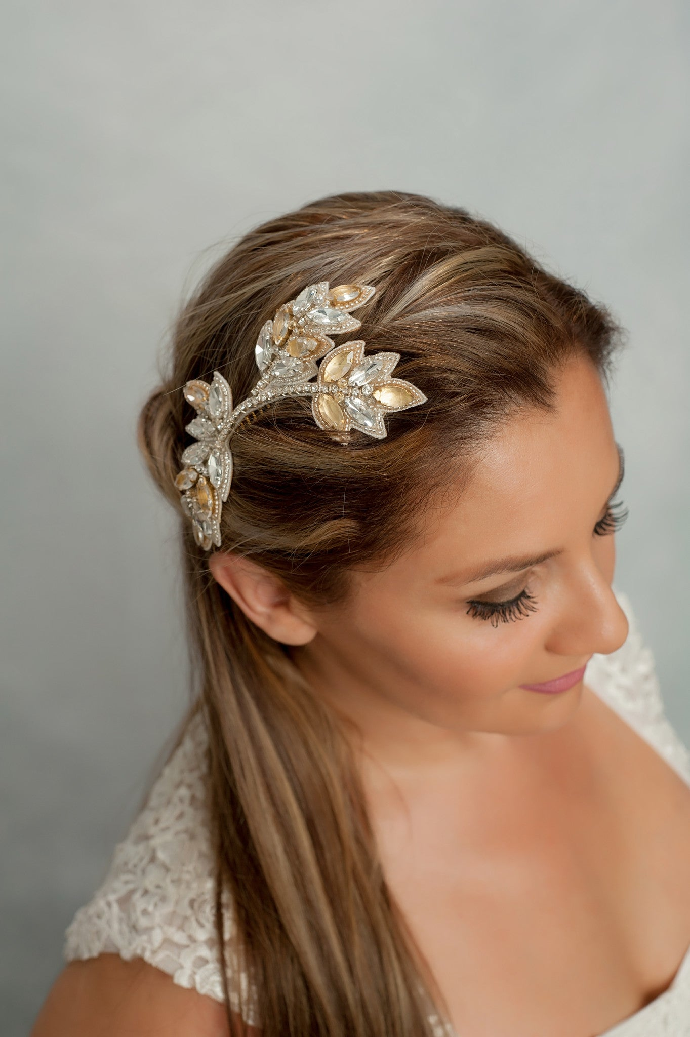 rhinestone branch headpiece HP170636