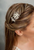 wired rhinestones hair comb - HP170637