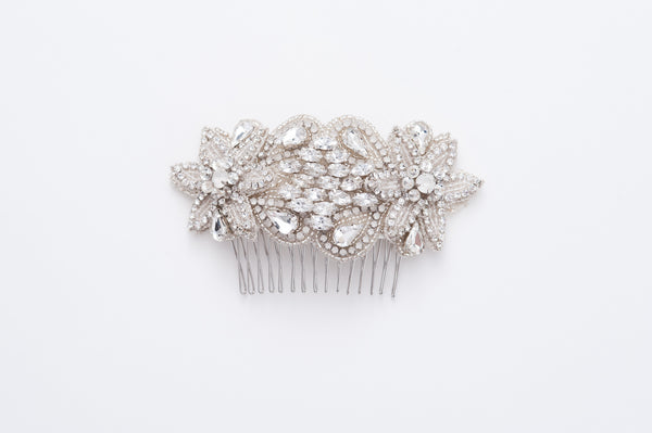 wedding rhinestone comb HP170692
