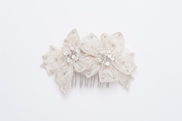 hair flower comb HP170683