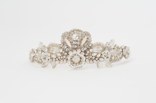 Laurelle beaded bridal headband - HP170679