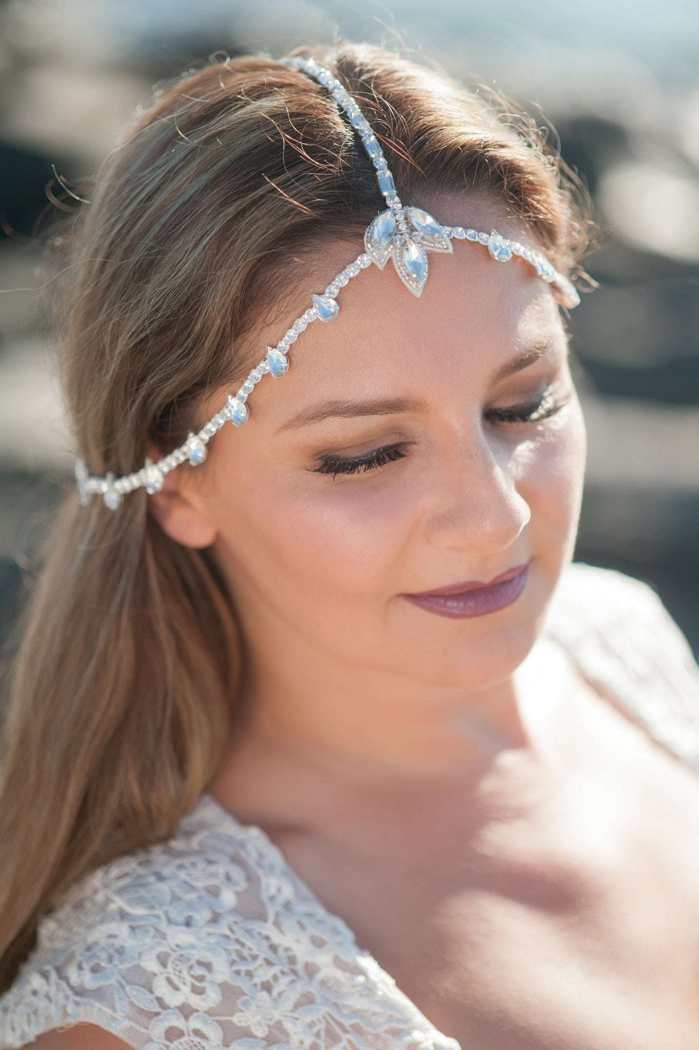 boho chain headpiece HP170656