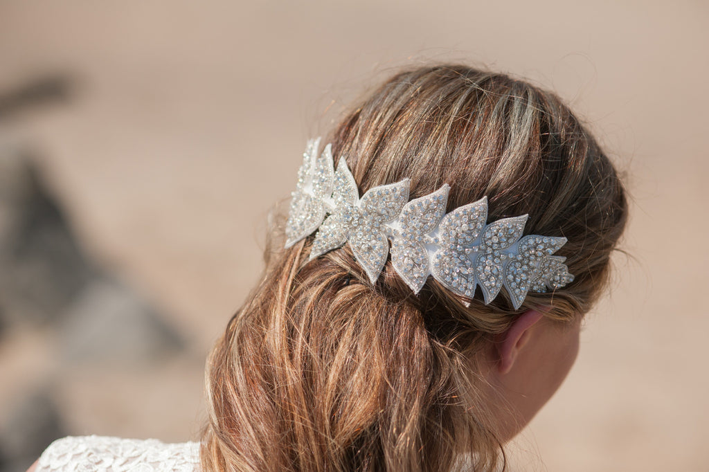 large leaves headpiece HP170601