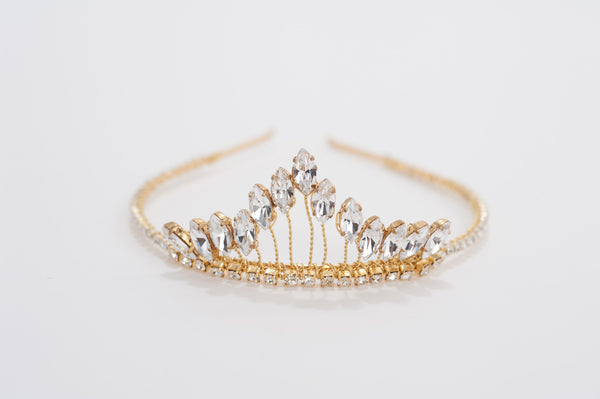 Rhinestone crown headband HP170625  Molly