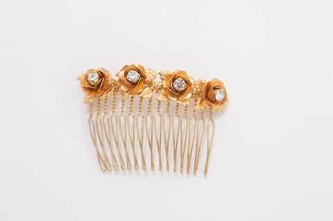 Rosettes hair comb HP170628 Mauricette