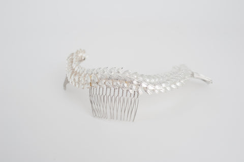 leaves oversize hair comb HP170624 Maggie