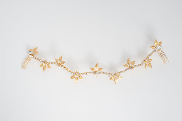 leaves vine headpiece HP170616-G Marla