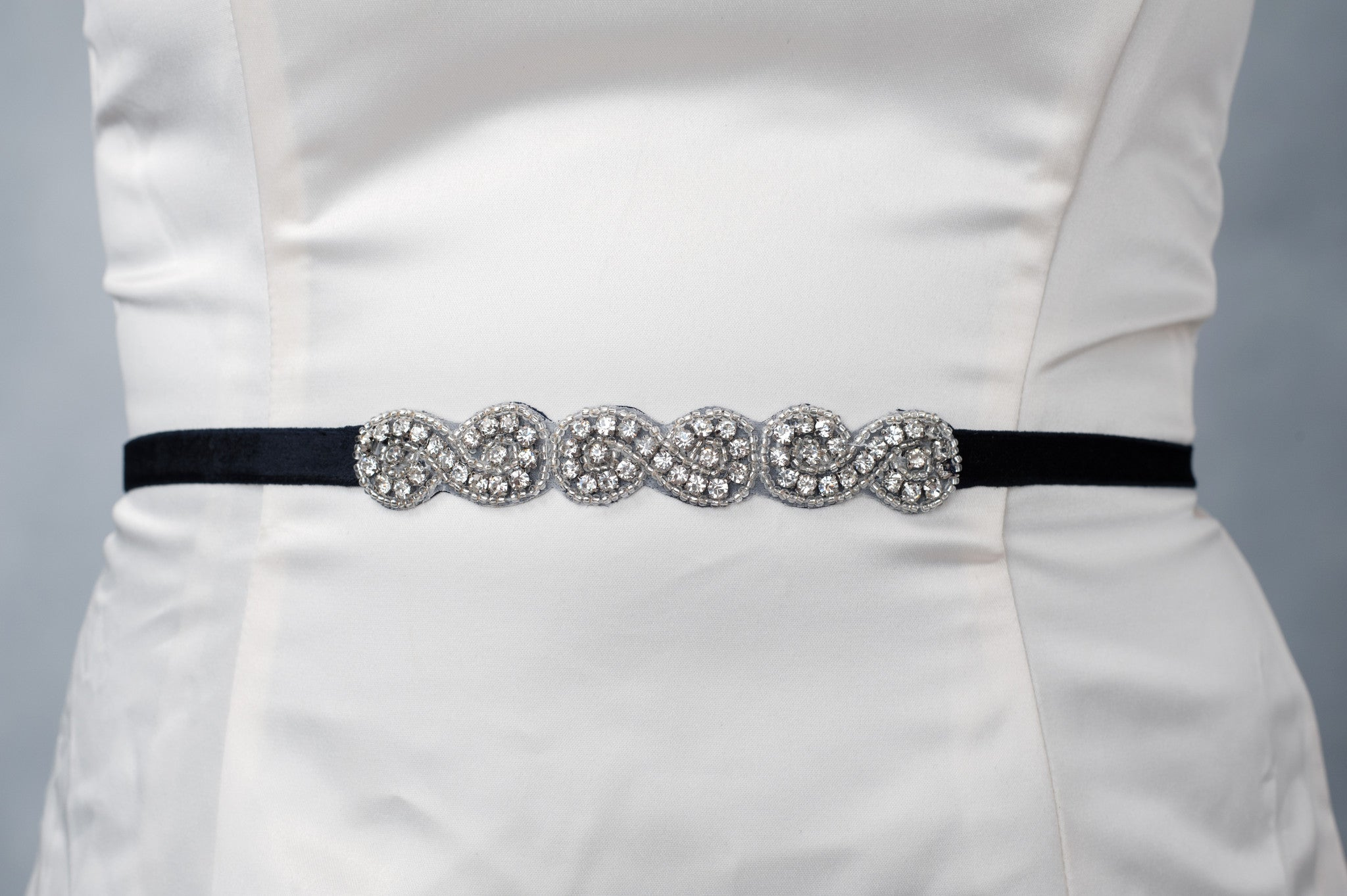 lea Crystal bridesmaids belt - SB170709