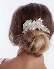 Bridal headpiece -lou- medium - 150026