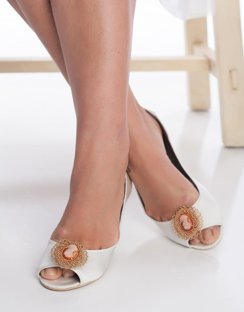 CAMEO rose Gold shoe clips -150032
