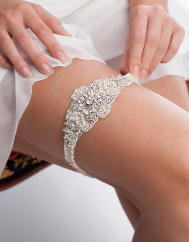 Solange beaded statement garter - 150045