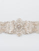 Solange bridal Beaded sash
