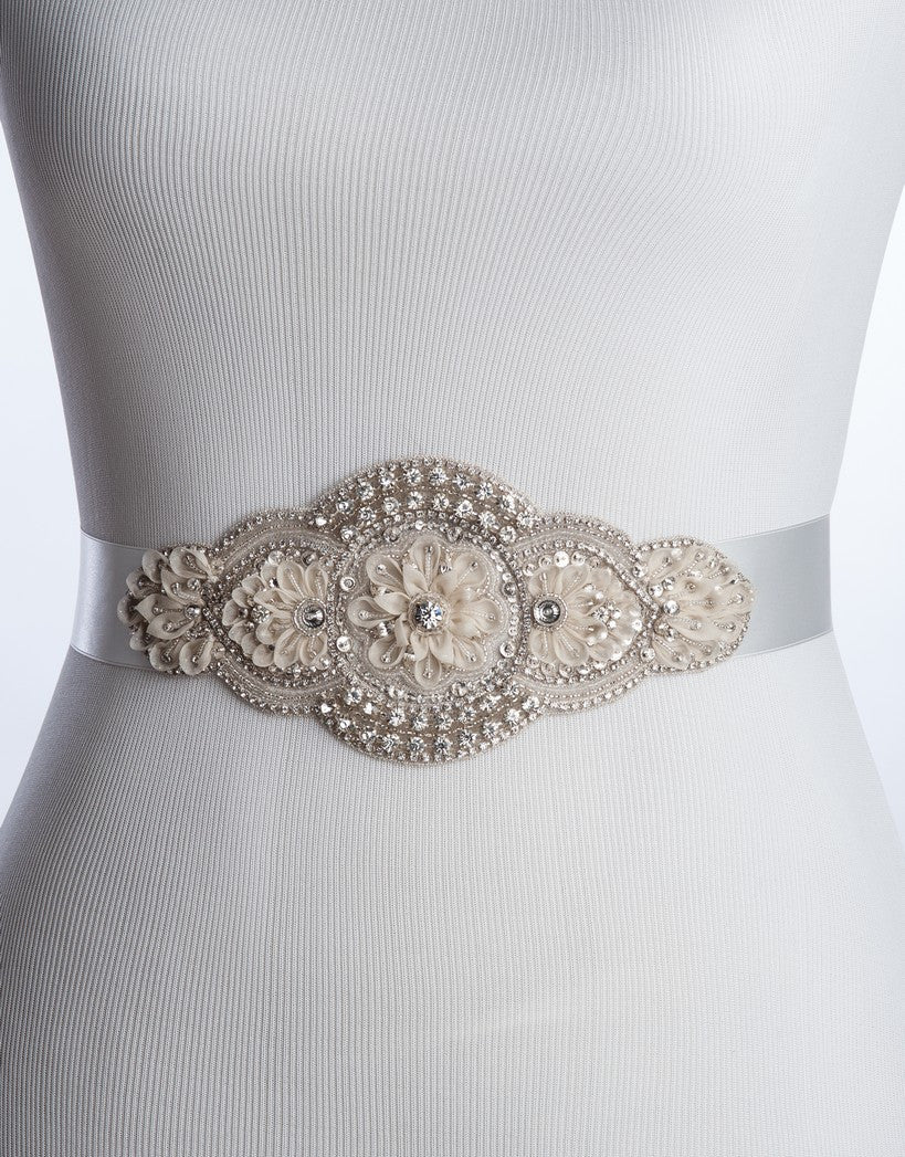 Carelle bridal sash