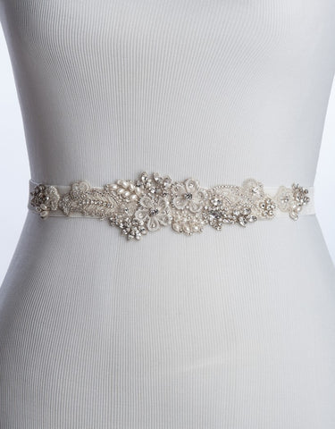 MARJO stretch wedding sash