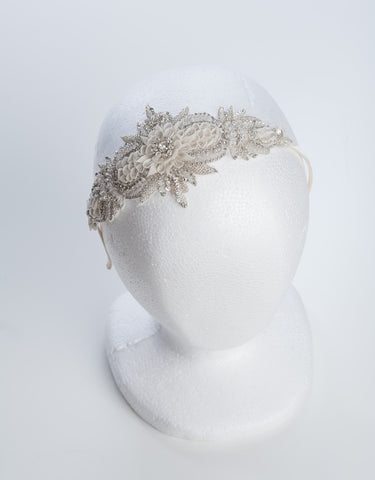 IRIDIA bridal headpiece