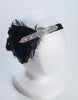 Flapper headband with feathers - Retro