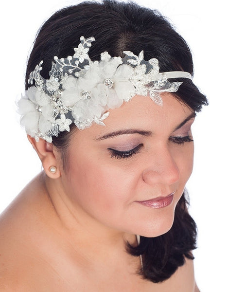 Jeanette headpiece