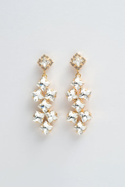 crystal chandelier earrings - style 20041
