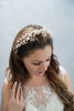 crystal and pearls halo - style 20025