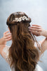 creamy floral hair comb - style 20023