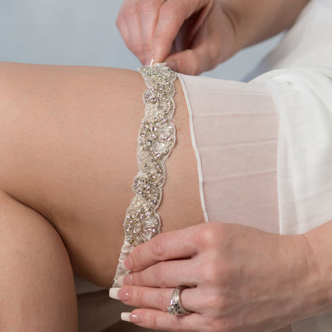 Elise single bridal garter - style 20063 (limited edition)