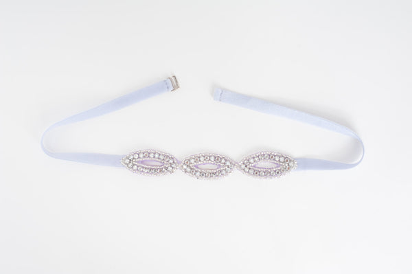 Oval Rhinestones bridesmaids belt - SB170708