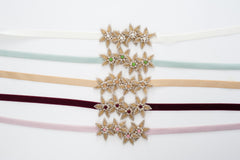 golden Starfish bridesmaids belt SB170688-G