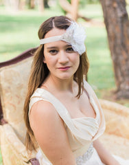 KAYLEE bridal flapper headband - 150082