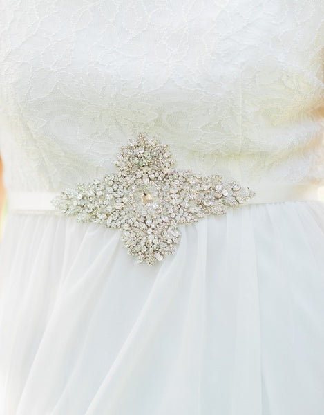 MIKAELA Beaded bridal belt - 150065