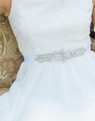Brittany wedding sash  - 150059