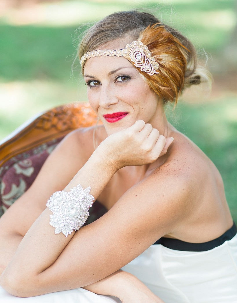 flapper headband - 150075 BIANCA