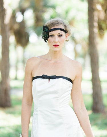 flapper headband - 150076 ADINA