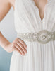 Toulouse bridal sash SB160120 - ready to ship