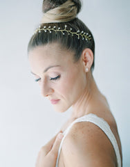 simple swarovsky crystal vine headpiece HP160200