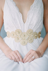 lace wedding belt  SB160132