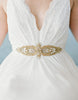Versailles Gold wedding sash SB160118