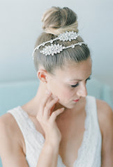 rhinestone hair wrap HP16028