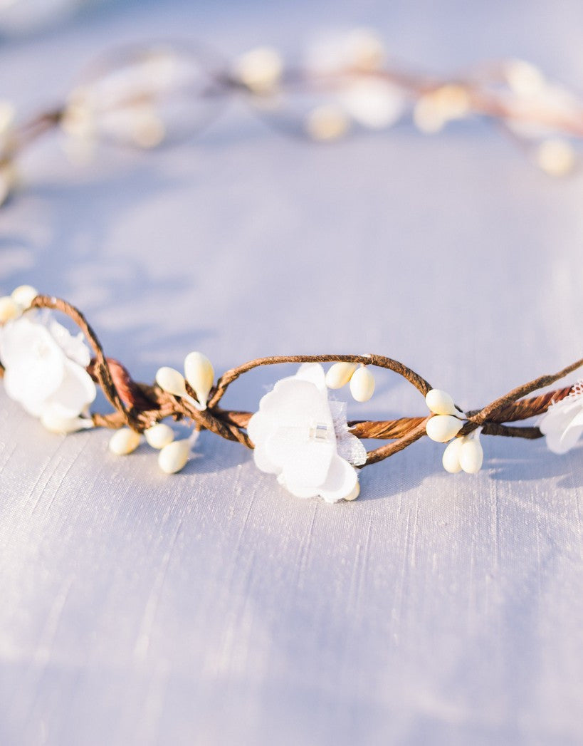 WOODLAND bridal wreath