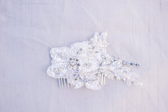 wedding hair comb - CALEY