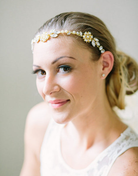bridal headpiece- Elna - 150217